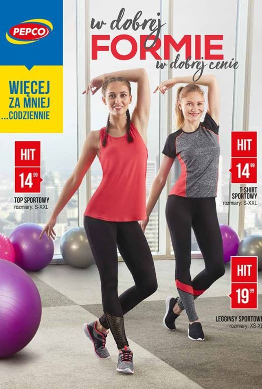 09649fb4 Ubrania na trening w Pepco [MODELE i CENY]. Sprawdź, co można kupić w  kolekcji fitnessowej